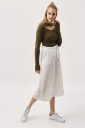 Lidyana Collection - Urban Ekru Culottes Pantolon