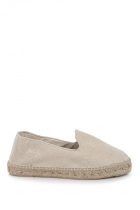 Manebi - La Havana Stone Washed Canvas Brown Sand Espadril