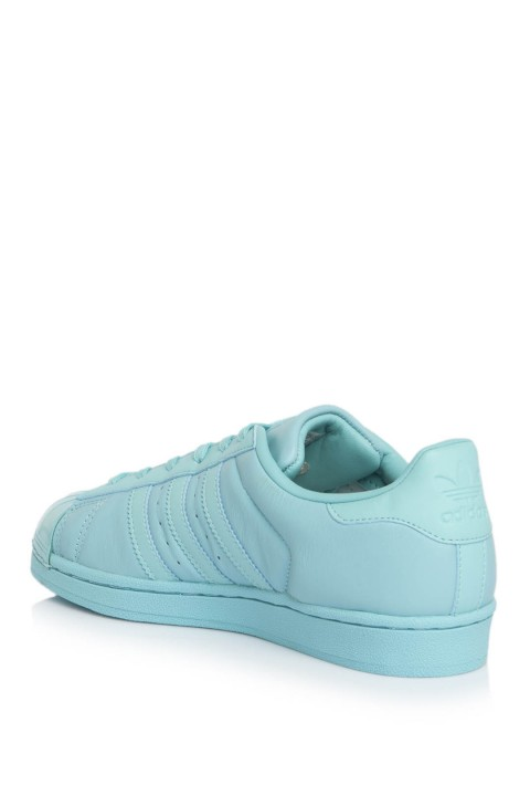 Adidas Superstar Glossy Toe Mint Sneakers