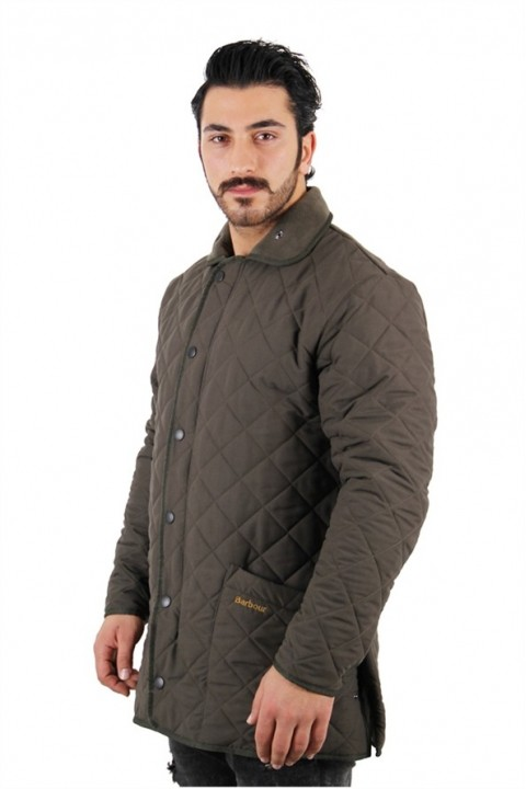 Barbour D2019 Barbour Mıcrofıbre Polarquılt Long-dark Brown - Dk Brown