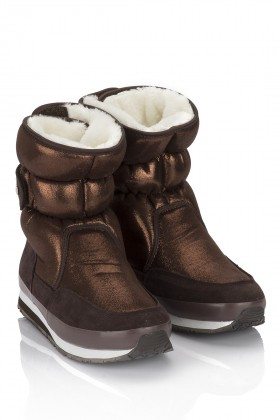 Rubberduck - SPORTY SNOWJOGGERS ICED Bronze/Bronz