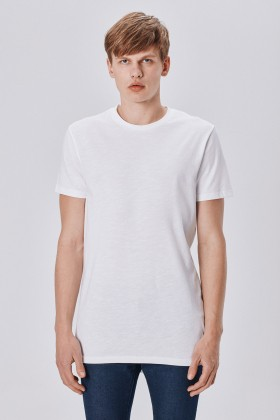 Allmur - Catalpa White Uzun T-shirt