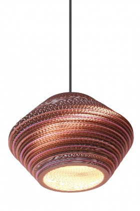 Kartonstudio - Honeycomb Colore Pink 55cm