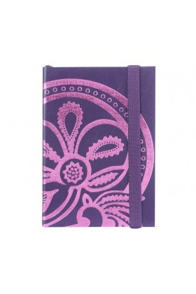Christian Lacroix Papier - A6 Tanjore Lotus - Embossed foil notebook