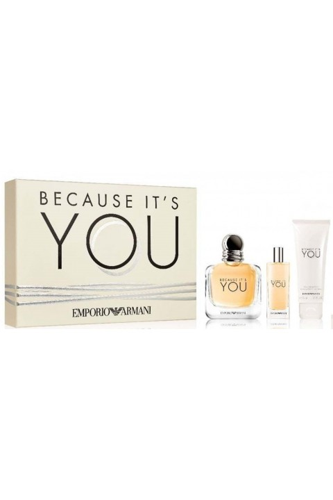 Emporio Armani Parfüm Emporio Armani Because İts You Edp 100 Ml + 15 Ml Edp Parfüm + 75 Ml Parfüm Seti