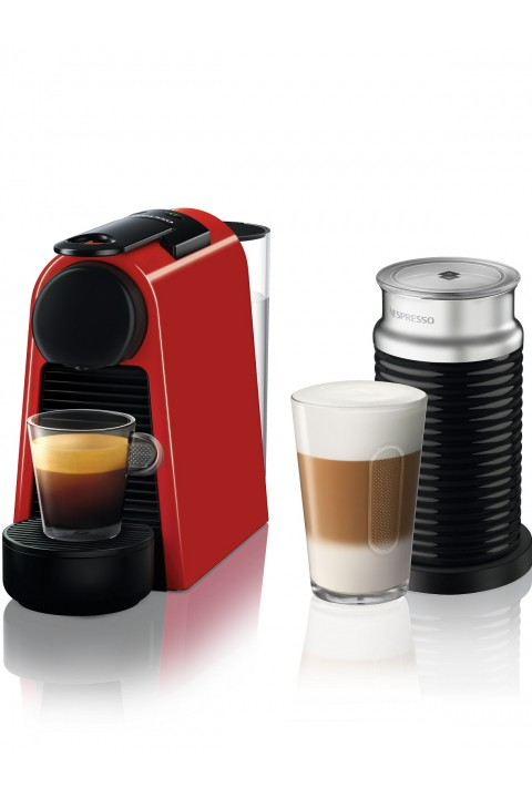 Nespresso Essenza Mini D 35 Red Bundle Kahve Makinesi