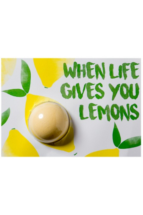 Bomb Cosmetics When Life Gives You Lemons Blaster Card
