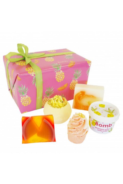 Bomb Cosmetics Totally Tropical Hediye Paketi