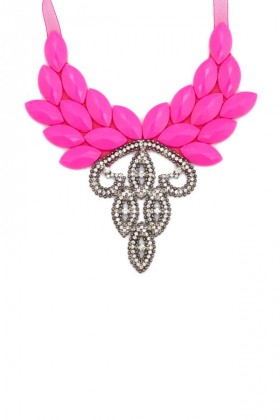 Aypen Accessories - Pembe Love Queen Jasmine Kolye