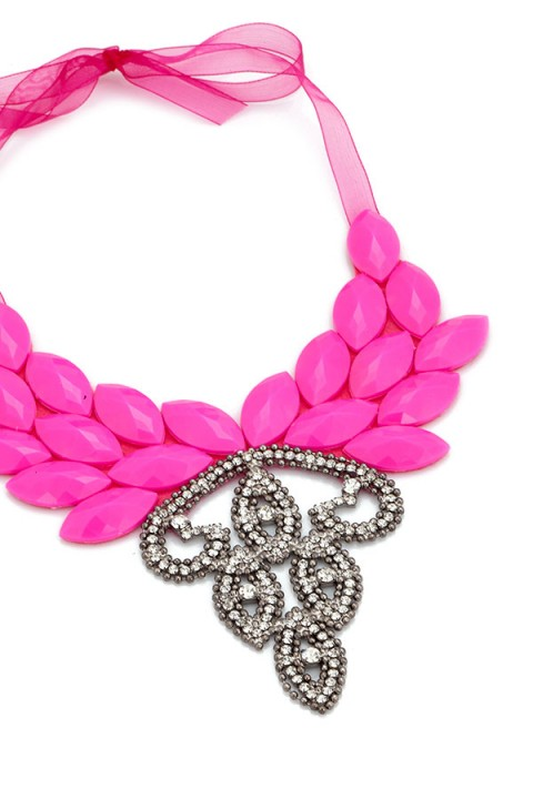 Aypen Accessories Pembe Love Queen Jasmine Kolye