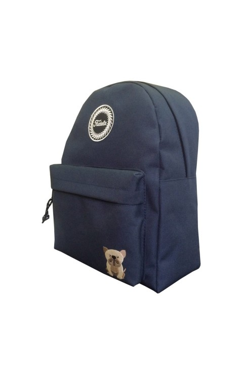 Fudela & Co Zye Navy Blue Dog Sırt Çantası