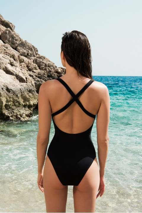 Anais Margaux Paris Josephine Black Swimsuit