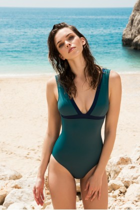 Anais Margaux Paris - Blanche Green Swimsuit