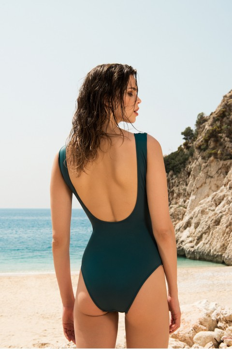Anais Margaux Paris Blanche Green Swimsuit