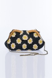 Larone by Bengartisans - Field Of Daisies Signature Clutch
