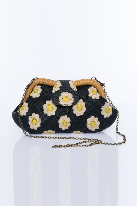 Larone by Bengartisans Field Of Daisies Signature Clutch