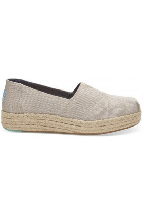 Toms - Natural Yarn Dye Women Platform
