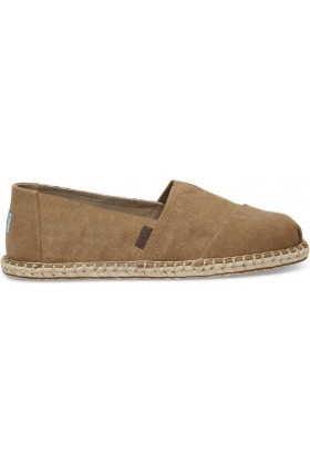 Toms - Toffee Wash Canvas/Blanket Men Alpargata