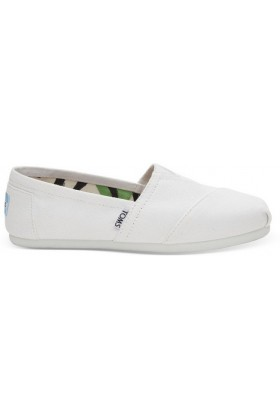 Toms - Optic White/White Canvas Women Alpargata