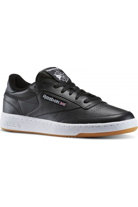 Reebok Club C 85 Black/White/Gum Sneaker