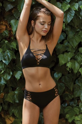 Simi - Lace-Up Bikini Ustu