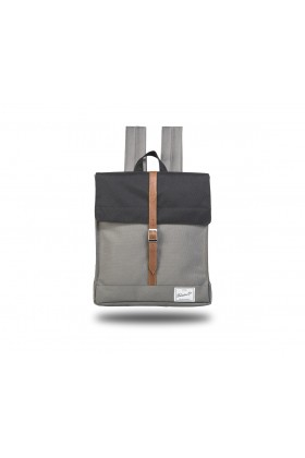 Fudela & Co - MBS Black-Grey Backpack