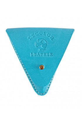 Le Color  - Leather Coin Case Turquoise