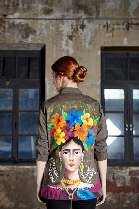 Look Project Frida Haki Parka