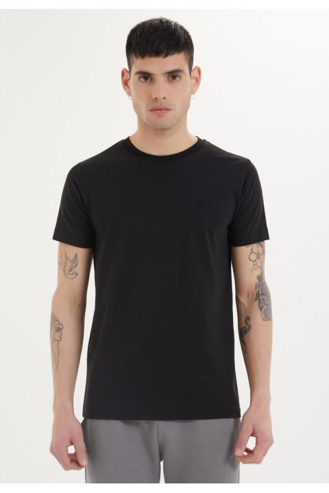 Westmark London Essentials O-Neck T-Shirt İn Black Siyah T-Shirt