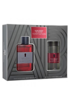 Antonio Banderas - Antonio Banderas The Secret Temptation Edt 100 Ml Erkek Parfüm Seti