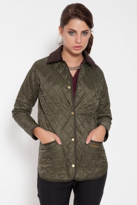 Barbour - Ladies Liddesdale Barbour Yeşil Mont