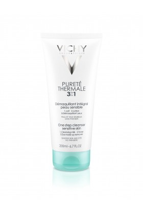 Vichy - VICHY Purete Thermale 3 in 1 One Step Cleanser Sensitive Skin 200 ml