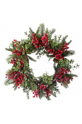 Angelica Wreath - Smile 25 Cm Kapı Süsü