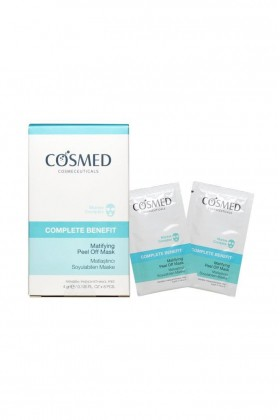 Cosmed - COSMED Complete Benefit Matifying Pell Off Mask 4gr x 8 poşet