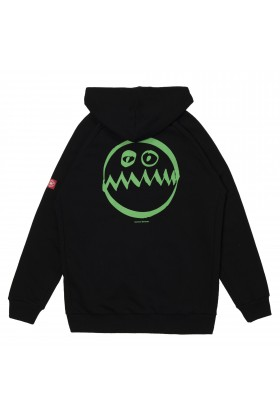 Common People - Siyah Monster Zıp-Up Hoodie