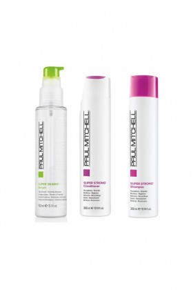Paul Mitchell - Paul Mitchell Super Skinny Serum 150 ml+Saç Kremi 300 ml+Şampuan 300 ml