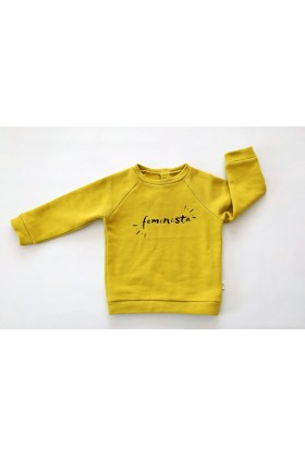 Tiny Little Love - Moss Feminista Sweatshirt