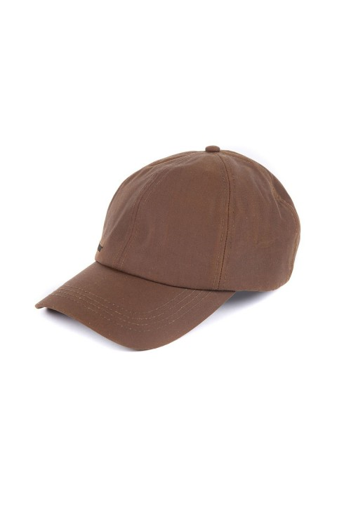 Barbour Barbour Wax Sports Cap Bark