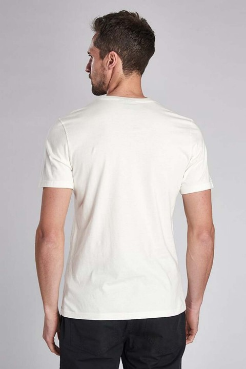 Barbour International B.Intl Archive Comp T-Shirt  Whisper White