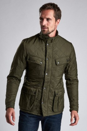 Barbour International - B.Intl Ariel Polarquilt Jacket  Olive