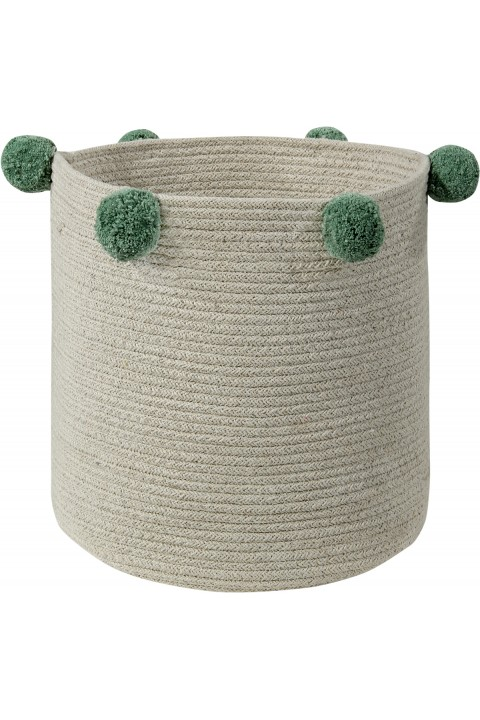 Lorena Canals Baby Basket Bubbly Green