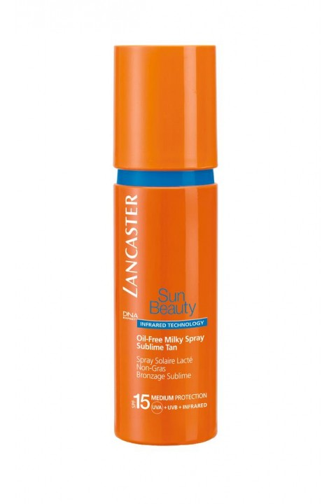 Lancaster Lancaster Sun Beauty Oil Free Milky Spray Spf 15 - 150 Ml