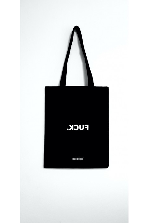 Smaller Studio F*ck Tote Bag Black
