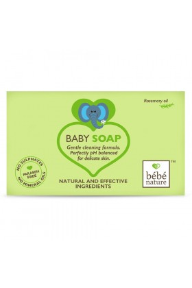 Bebe - Bebe Nature 100% Baby Soap With Rosemary Oil 100 ML