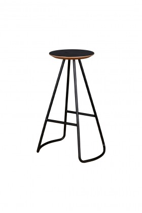 Studio Kali - Sama High Stool Black Tabure