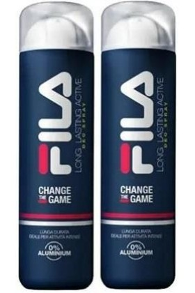Fila - Fila Change The Game Long Lasting Actime 150 ml x 2 Deodorant Sprey Set