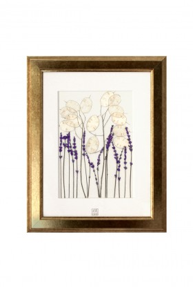 Save the Flowers - Lunaria+ Lavender Tablo