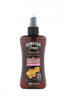 Hawaiian Tropic - Hawaiian Tropic Spf 20 Medium Kuru Sprey Yağ 200 ml