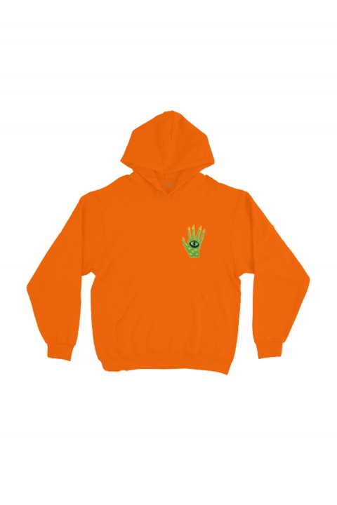 Valuebyvalue Alien Hand Patched Hoodie