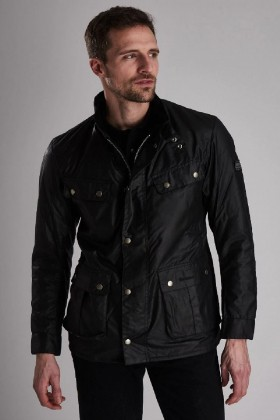 Barbour International - B.Intl Duke Yağlı Ceket BK91 Black